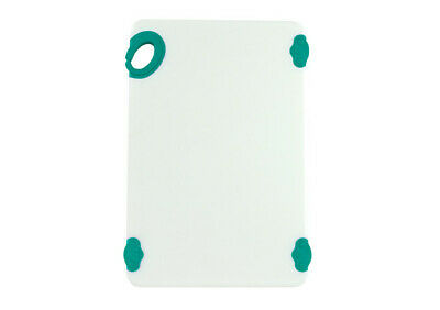 Winco CBN-1218GR, 12x18x0.5-Inch Cutting Board with Green Hook, NSF
