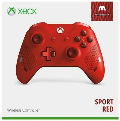 Genuine Microsoft Xbox One Wireless Controller - Sport Red Special Edition