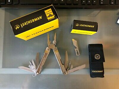 LEATHERMAN REBAR Multi-Tool with Nylon Sheath - Stainless Steel + BREWZER