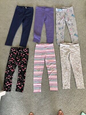 Lot of 6, 1 Disney size 6/ 3 Cat and Jack Xs / 1 Carters size 6