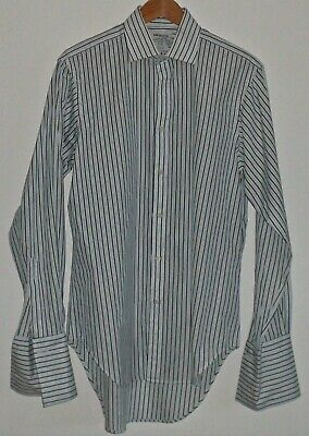 "T M Lewin Formal Shirt 15.5"" Double Cuffs"