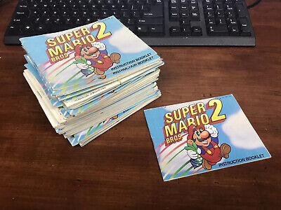 Nintendo NES: Super Mario Bros. 2 [Instruction Book Manual ONLY]