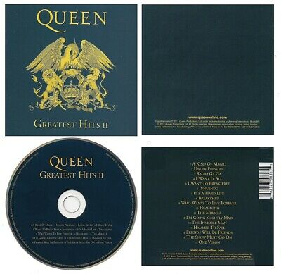 Queen ‎– Greatest Hits II CD - 2011 Remastered Edition - Classic Rock - NEW