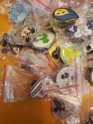 Disney Assorted Pin Trading Lot ~ Pack size 10 ~ Brand NEW ~ No Doubles