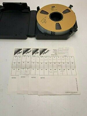 "Used 3M 996 2"" Audio Mastering Tape Purchased from Producer - Billy Joe Shaver"