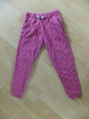 Girls pink jogging bottoms.  Age 8 years.  From Mothercare.