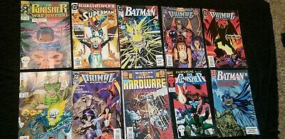 Marvel and DC Comic Books Gift Bundle Mix Lot of (10)