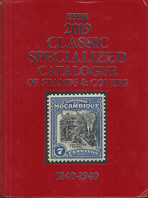 Scott 2019 Classic Specialized Catalogue of Stamps & Covers, gently used.