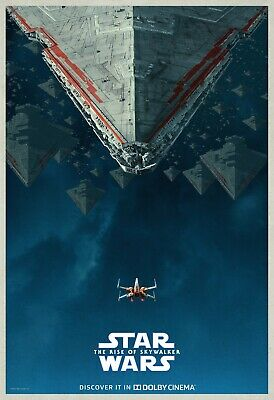 """Star Wars The Rise Of Skywalker Poster Episode IX Movie Dolby Art Print 24x36"""""""