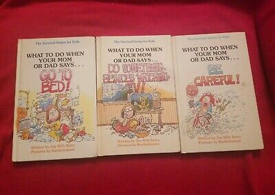THE SURVIVAL SERIES for KIDS WRITTEN by JOY BERRY CHILDREN BOOKS set/lot of 3