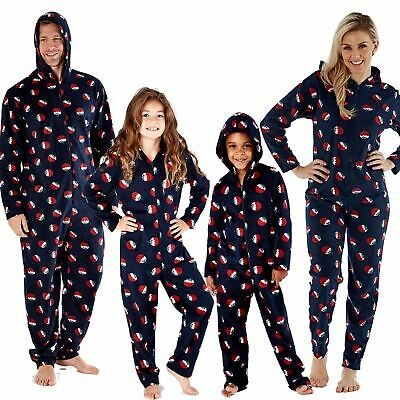 Family Matching Christmas Eve All In One Pyjamas Mens/Ladies/Boys/Girls Pyjama