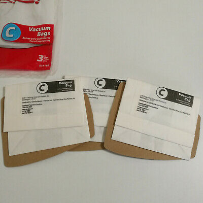 Eureka Type C Vacuum Cleaner Filter Bags 3-Pack 52318B Genuine OEM