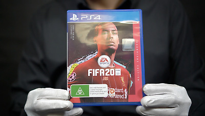 FIFA 20 Champions Edition Cover PS4 Game Boxed - 'The Masked Man'