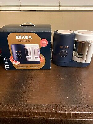 Beaba Babycook Neo Midnight Baby Food Maker Blender