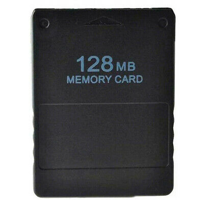 New Memory Card For Sony Playstation 2 Console PS2 Saved Game Data 128MB 128 MB