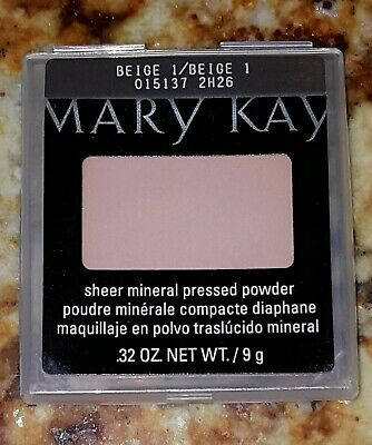 Mary Kay Sheer Mineral Pressed Face Powder BEIGE 1