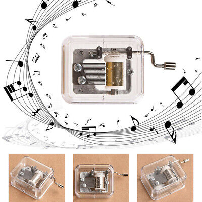 Swan Lake /& Over the Rainbow Wind Up Musical Movements Parts DIY Music Box