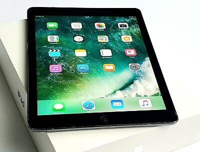 Apple iPad Air 1st Gen. 16GB, Retina Wi-Fi + 4G Unlocked 9.7in - Space Grey B58