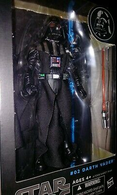 MINT!🌿NEW!💥DARTH VADER Action Figure The Black Series 6 inch #02 Star Wars