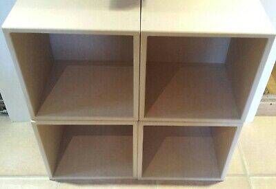 """12"""" Record Storage Cube With Solid Backs (4 CUBE SPECIAL OFFER)"""