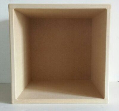 """12"""" Vinyl Record Storage Cube With Solid Back (2 Cube Special Offer)"""
