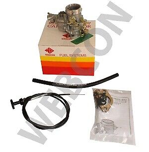 Land Rover Series 2A & 3 Weber 34 Ich Carb/ Carburettor1