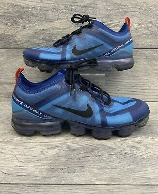 Nike Air Vapormax 2019 Translucent Infused Indigo Force Blue Running Mens Size 8