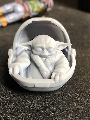 The Mandalorian  Yoda species 3d printed 6in black series