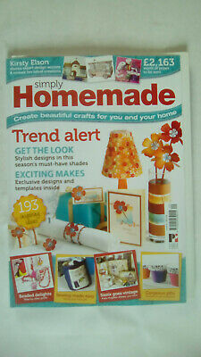 Simply Homemade Magazine Issue Number 20 With pattern sheet