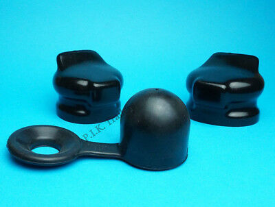 No Loss Rubber Towball Cover with 2 x Socket Covers for Detachable & Swan Neck