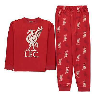 Team Kids Boys Wov Jsy Top PJ Childs Pyjama Set