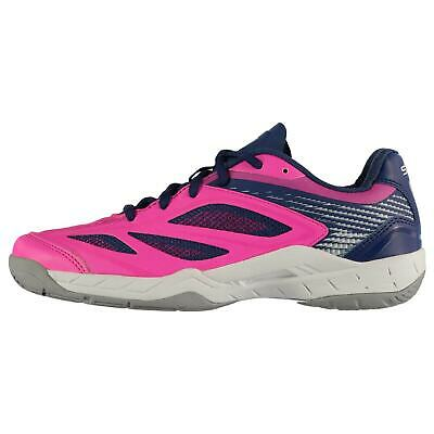 Slazenger Kids Girls Velocity Trainers Netball Shoes Lace Up Breathable Padded