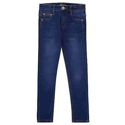 Firetrap Kids Boys Skinny Jeans Pants Trousers Bottoms Cotton Slim Fit Denim
