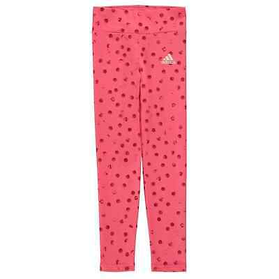 adidas Kids Girls MH Grad Tight Performance Tights Pants Trousers Bottoms