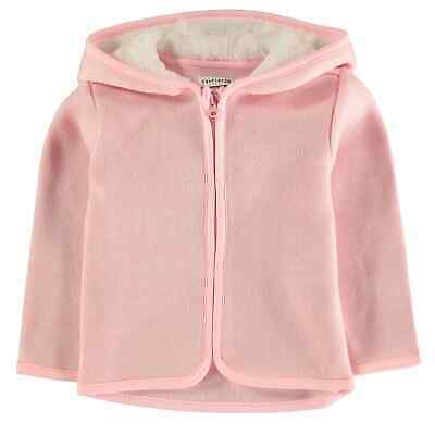 Crafted Essentials Kids Girls Cosy Cardigan Jumper Top Long Sleeve Hooded