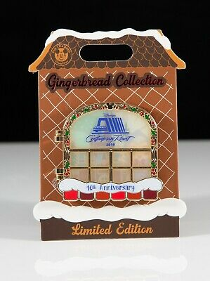 2019 Walt Disney Resort Christmas Gingerbread House Pin - Contemporary 10th LE