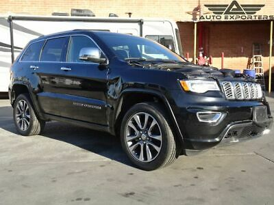 2017 Jeep Grand Cherokee Overland 2017 Jeep Grand Cherokee Salvage Damaged Vehicle! Priced To Sell! Wont Last!!!