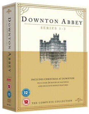 Downton Abbey Series 1-3 Complete Collection DVD 2012 Box Set By Universal NEW