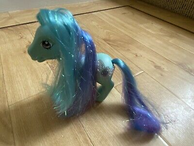 My Little Pony 2006 G3 Blue Daybreak Crystal Princess Design 3D Butterfly Cutie