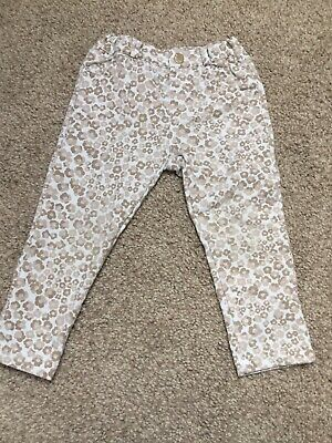 Girls Floral Mayoral Trousers Age 18 Month