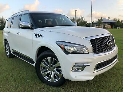 2016 Infiniti QX80 SIGNATURE EDITION PACKAGE!! 24K Miles ONLY 24k MILES, SIGNATURE PACKAGE, PREMIUM PACKAGE MSRP $66K