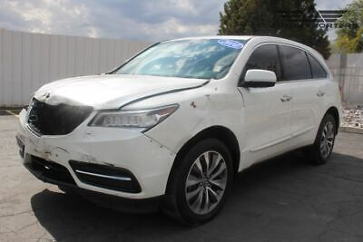 2014 Acura MDX Tech Pkg 2014 Acura MDX Salvage Damaged Vehicle! Priced To Sell! Wont Last! Must See!!