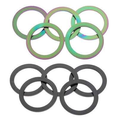 5pcs Metal o Ring Flat Round For Jewelry Making ,Key Rings ,Strap Buckles