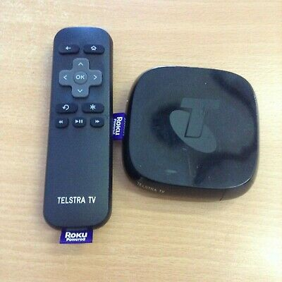 Telstra TV 4200TL USED Powered by Roku #2 NO POWER ADAPTER