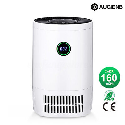 AUGIENB Air Purifier HEPA Filter Refresher Ioniser Odor Dust Mold Cleaner