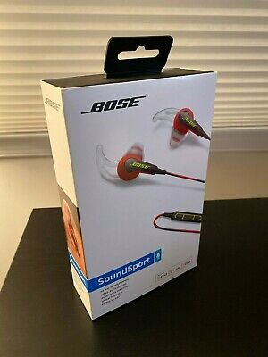 Bose SoundSport In-ear Wired Headphones - Red