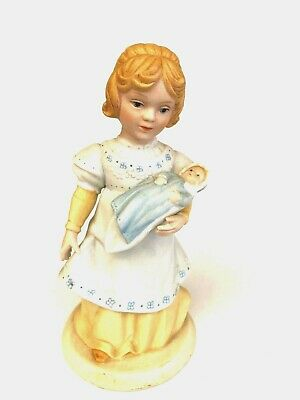 Avon A Mothers Love Baby Doll Porcelain Figurine Vintage 1981 Collectable Marked