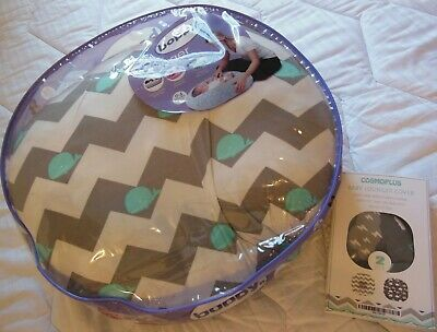 Boppy Newborn Lounger WITH 2 extra covers NEW