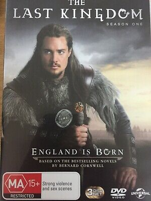 THE LAST KINGDOM - Season 1 3 x DVD Set AS NEW! Complete First Series One
