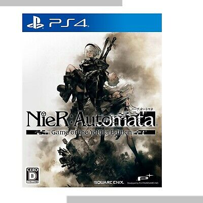nier:Automata Game of the YoRHa Edition playstation 4 game soft japan nier